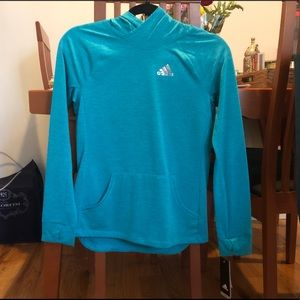 Adidas Climalite Aqua Sweatshirt